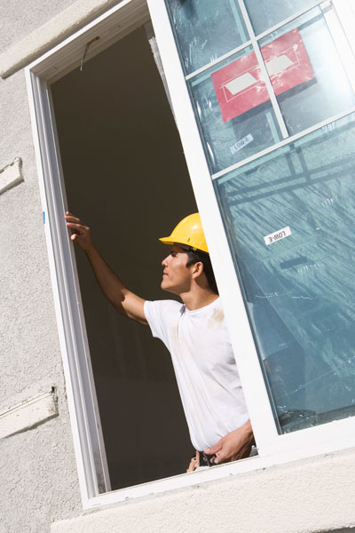 new window being installed