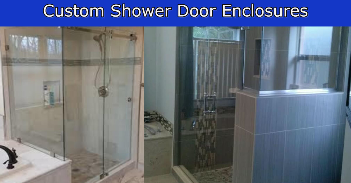 custom shower door ideas